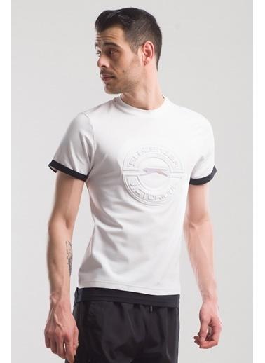Slazenger Slazenger PASCAL Erkek T-Shirt  Beyaz